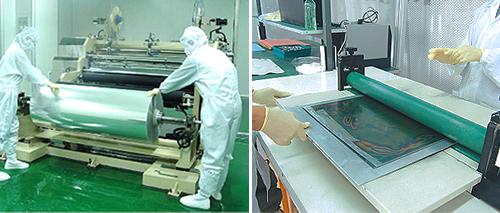 Die Cut Amp Film Lamination San Technology Inc Santek